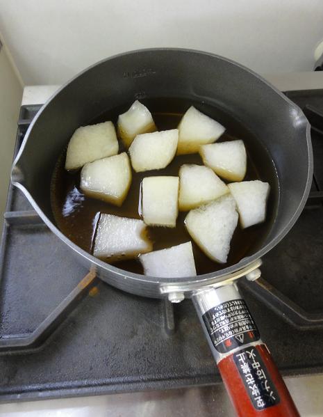 冬瓜含め煮2