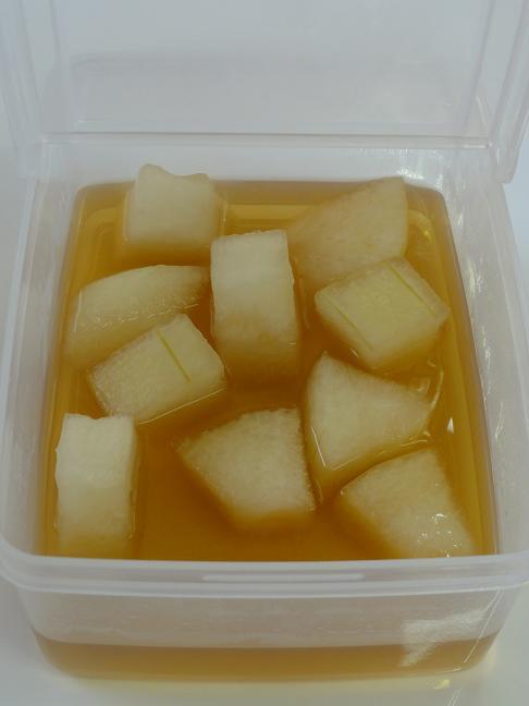 冬瓜含め煮5