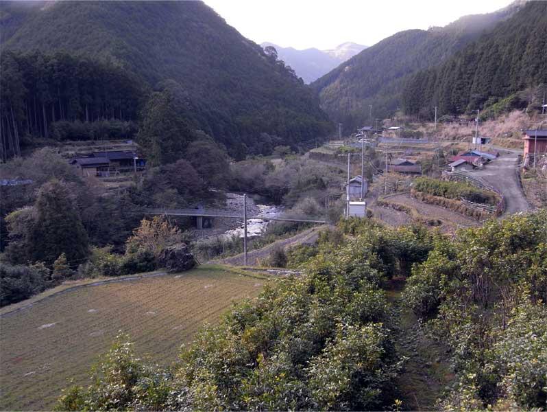 高野の集落