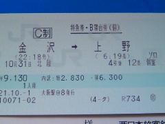 北陸きっぷ2020