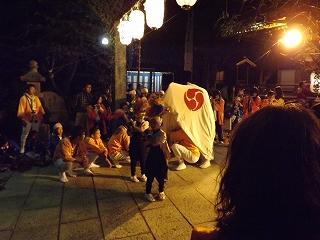 宇佐八幡宮(獅子舞)