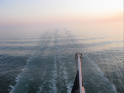 Dawn from the ferry