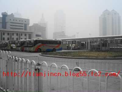 天津駅バスターミナル1