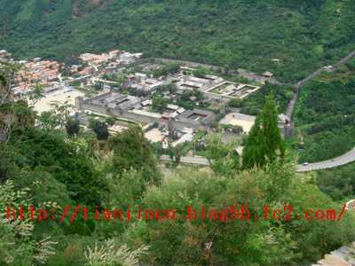 黄崖関長城10