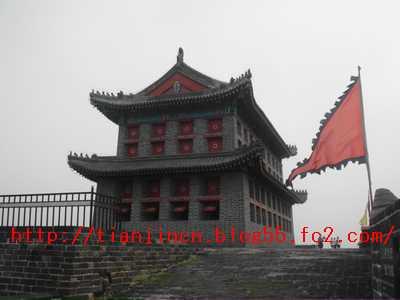 山海関望洋楼(南門)1