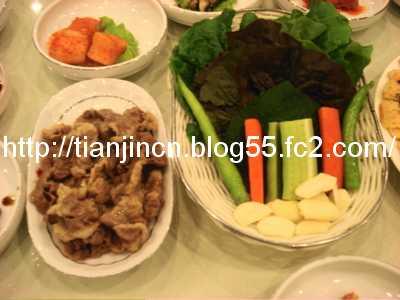 楓林賓館 韓餐庁4
