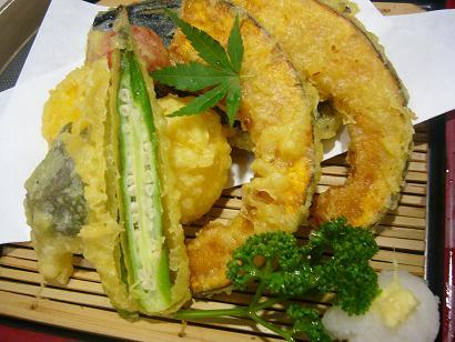 夏野菜五種天ぷら2