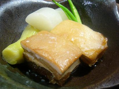 芋豚と夏野菜炊き合わせ1 (2)小