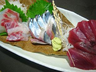 サンマ・カツオ・紅葉鯛1