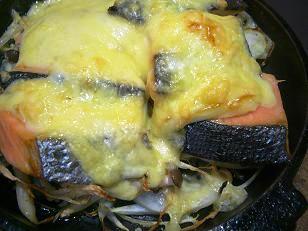 鮭のチーズ焼き1 (3)