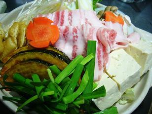 豚生姜ちゃんこ鍋