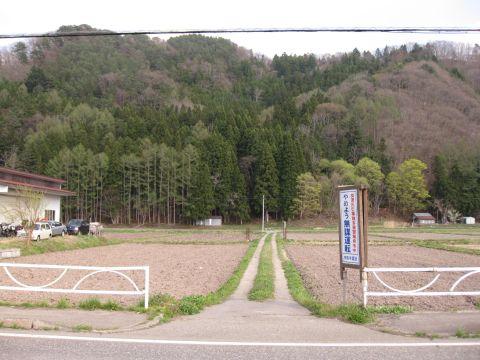 油燈の鷲神社参道