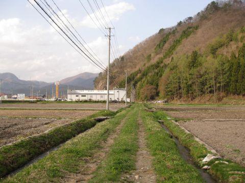 会津西街道旧道 東永田