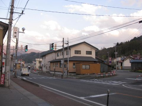国道121号 田島西町甲
