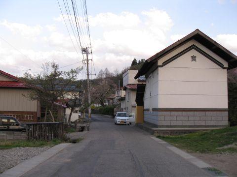 田島西町甲 旧道