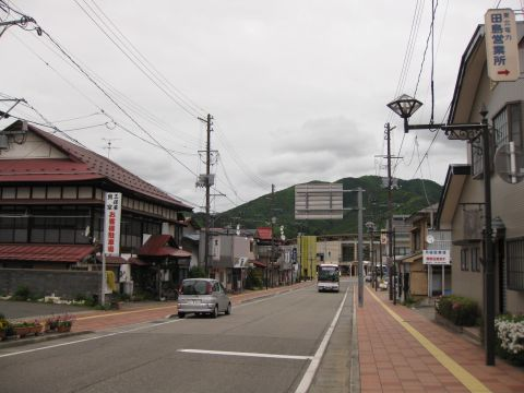 会津田島駅前通り