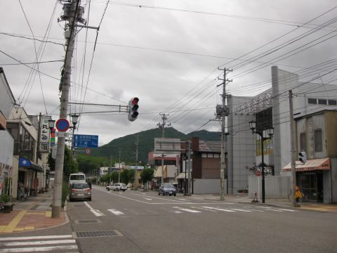 国道121号 田島中町甲