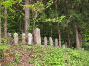 田島横林甲の野仏群