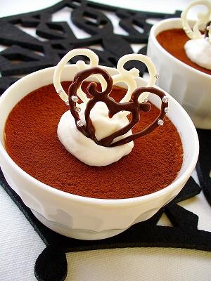 バロックハートのチョコレアチーズケーキ