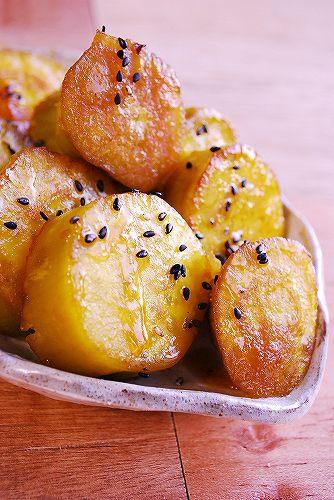 さつま芋の甘煮DSC_0142