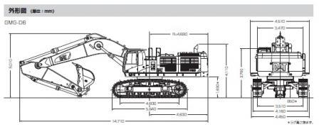 CAT油圧ショベル06