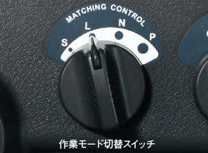 作業モード切替スイッチ