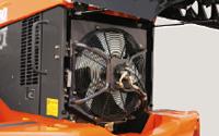 温度感応型油圧駆動ファン