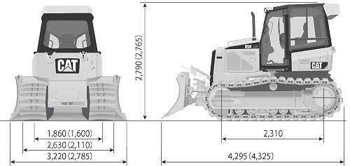 CATブルドーザー(乾地車・D11T(リッパ付))