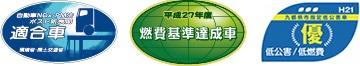 新長期排出ガス規制&燃費基準ロゴ