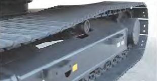 傾斜型トラックフレーム