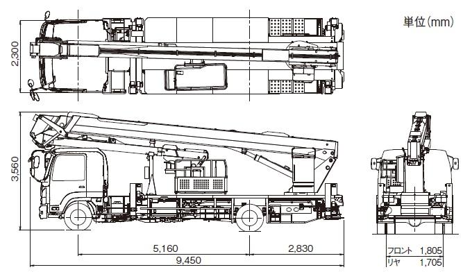TADANOスカイボーイ一般工事用(トラック式・AT-300CG)