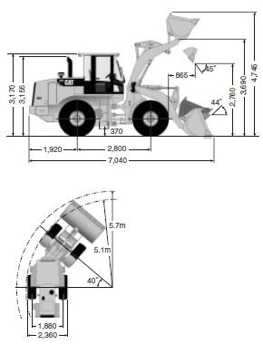 CATホイールローダー(924HZ)
