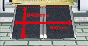 携帯式スロープ板