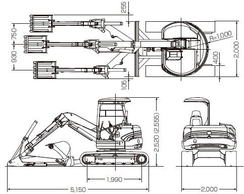 CATミニ油圧ショベル「FIGA(ファイガ)」050 SR