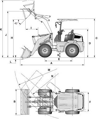 CATミニホイールローダー(903B2/902B2/901B2)