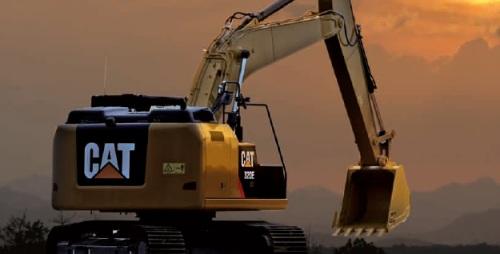 CAT油圧ショベル(汎用小旋回機・320E RR)