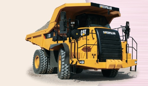 CATダンプトラック(770)