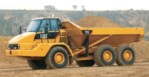 CATアーティキュレートダンプトラック(725)