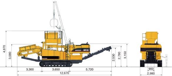 CAT自走式土質改良機(MR126)