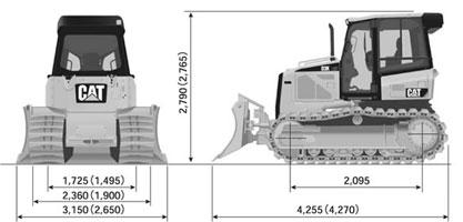 CAT ブルドーザ D3K (5)