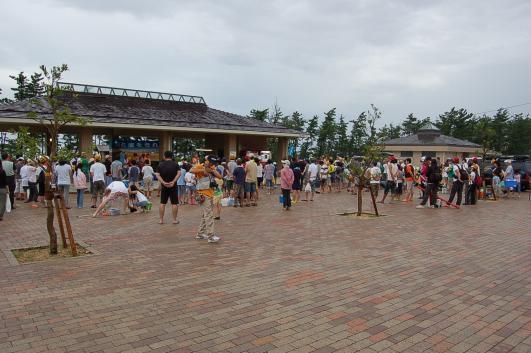 09、第4回 鳥取砂丘「投げ釣り教室&ペアー釣り大会」