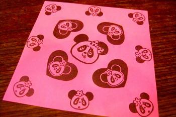 パンダ折り紙