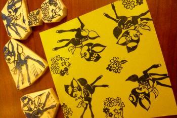 バンビ折り紙