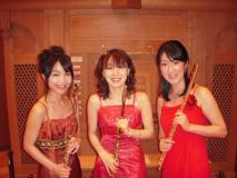 赤ドレス2