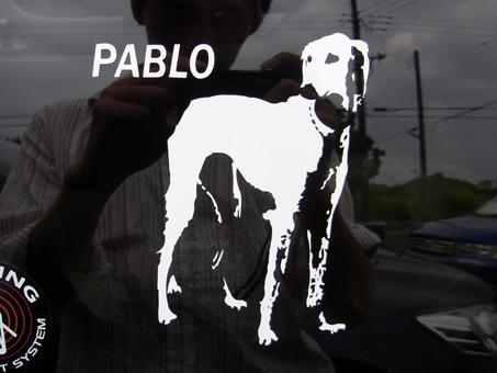 ぼんやり立ってるパブロ
