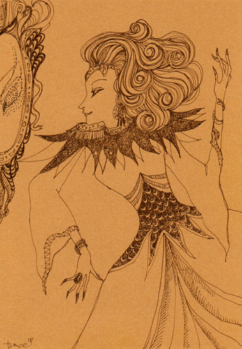 白雪姫の母