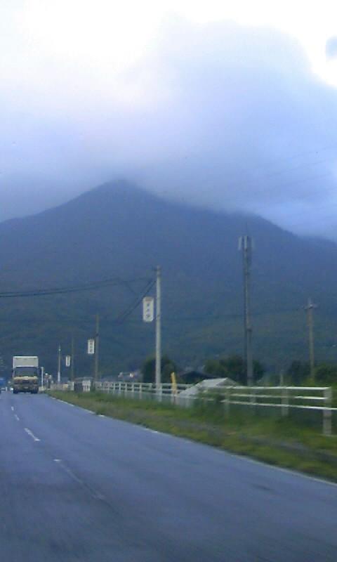 筑波山の裏へ