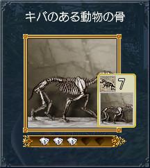 01キバのある動物の骨