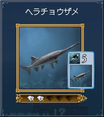 09ヘラチョウザメ