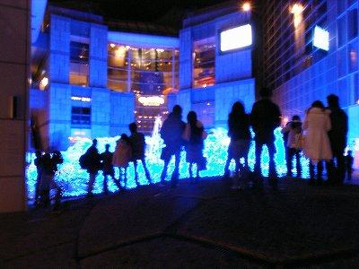 青いクリスマス1
